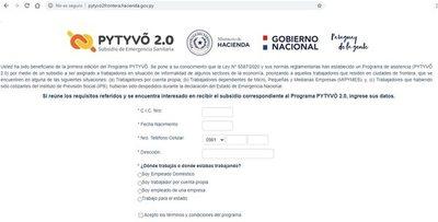 ¿Quiénes ya pueden inscribirse a Pytyvõ 2.0 desde hoy?