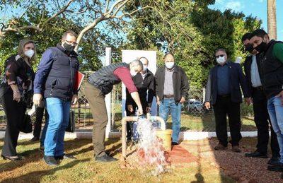 Gobierno financiará construcción de 10 sistemas de agua en Canindeyú