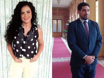 Navila Ibarra niega romance con secre privado del presidente Marito