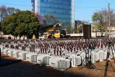 """ANDE prevé instalar 3.000 transformadores en 2020 e impacto de cortes """"se tiene que sentir menos"""""""