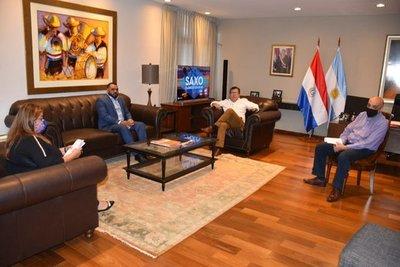 Gobierno a través de la EBY dotará de 10 sistemas de agua potable a Canindeyú
