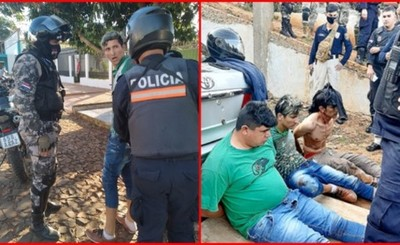 Cuatro detenidos tras fallido intento de asalto a casa de cambios