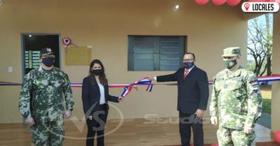 Inauguran pabellón para militares en el Penal de Itapúa