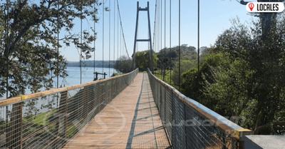 Puente Colgante de Capitán Meza no se encuentra habilitado