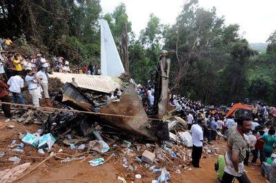 Grave accidente aéreo en India