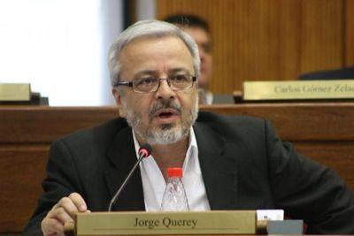 Benigno va a tocar plata de Salud y después va a pedir otro préstamo para este Ministerio, dice Querey