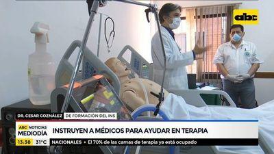 Instruyen a médicos para ayudar en Terapia