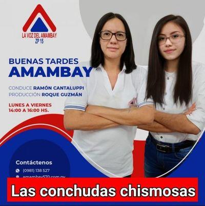 """Las niñas chismosas de """"Buenas Tardes Amambay"""""""