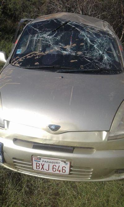 Mujer falleció tras vuelco de rodado en Loma Porã