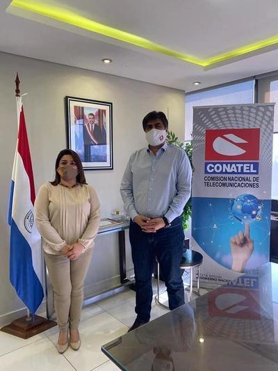 CONATEL concreta importante cooperación con el SNPP en Guarambaré