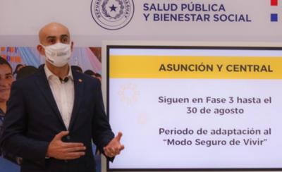 HOY / Salud implementará nuevo protocolo de definición de casos positivos