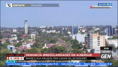HOY / Mujer denuncia irregularidades en un albergue en Ypacaraí