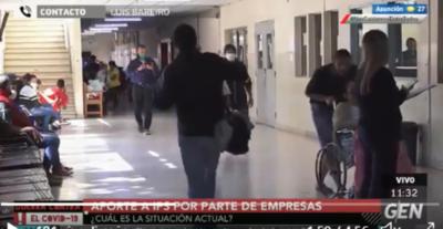 HOY / Luis Bareiro, jefe de la Unidad de Promoción del Seguro Social del IPS, sobre aportes por parte de empresas