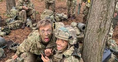 Con 1,56 de estatura, Susy Benítez superó a 38 cadetes en la Real Academia Militar Sandhurst