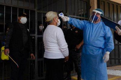 El Ministerio de Justicia informa que hay 52 casos positivos de Covid-19 en Tacumbú