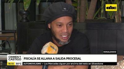 Ronaldinho podría quedar libre el lunes