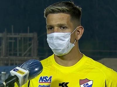 Juan Espínola se destacó en el empate en Villarrica