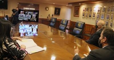Corte pide informe a jueces sobre cumplimiento de ley de Senabico