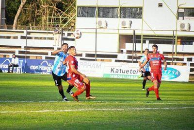 Sin goles en el Parque del Guairá