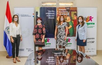 Ñañangareko: Campaña que busca proteger a niñas y adolescentes del abuso sexual y embarazo precoz