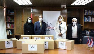 Embajada de Líbano en Paraguay dona insumos sanitarios a Migraciones