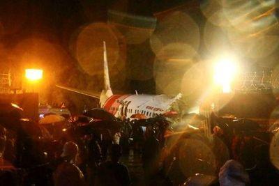 Avión de Air India se estrella al aterrizar, al menos 16 muertos