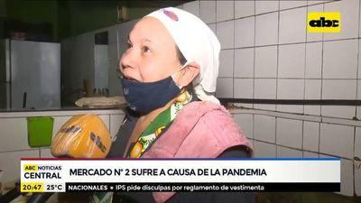 Dura situación en el Mercadito de Asunción