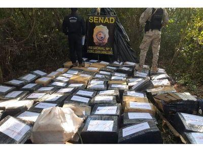 Incautan más de dos toneladas de marihuana marroquí