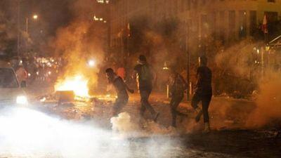 La catástrofe de la explosión de Beirut reaviva las protestas contra el Gobierno