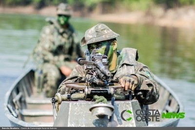 ITAIPU confirma simulacro de INVASIÓN de la usina por militares de PARAGUAY y BRASIL