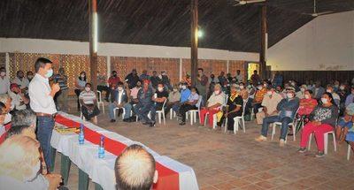 Presidente de INDERT se interioriza de la problemática de tierras en Puerto Casado