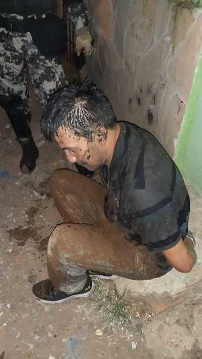 Tras intensa persecución policial, caen dos presuntos tortoleros
