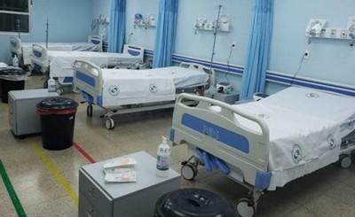 Habilitan más 10 camas de UTI en el Pabellón de Contingencia