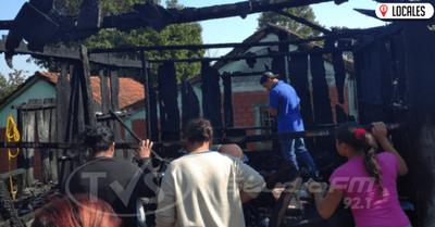 Tras incendio, piden ayuda para familia afectada
