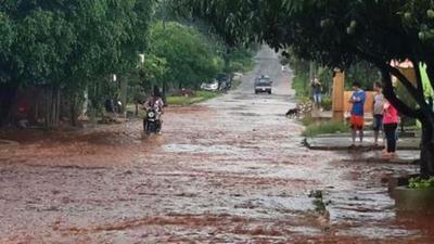 ALERTA: hoy podría iniciarse inundación en zona baja de CDE