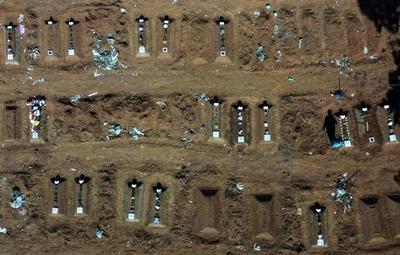 Latinoamérica y el Caribe superaron a Europa en cantidad de muertos por Covid-19