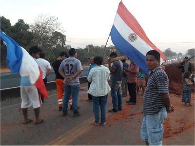 Repudian violento desalojo y atropello a comunidad indígena en Caaguazú