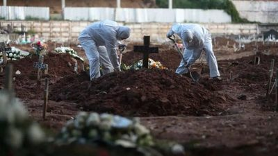 Brasil supera las 100 mil muertes por Covid-19