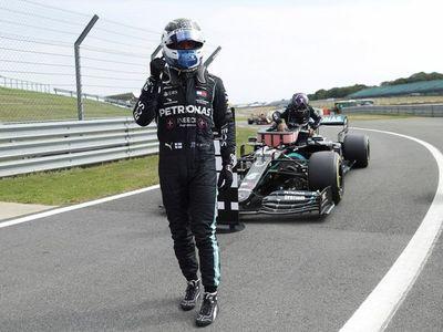 Bottas le gana la 'pole position' a Hamilton