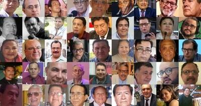SIP concede Gran Premio Libertad de Prensa a 100 periodistas fallecidos por COVID-19