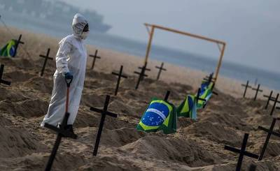 Brasil supera las 100.000 muertes por coronavirus