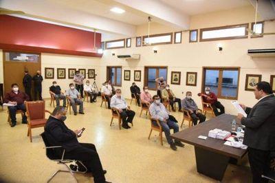 Concejo de seccionales piden unidad en Diputados para impulsar intervención a municipios