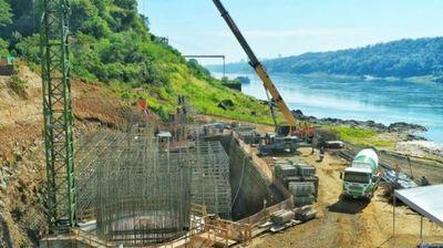 Puente de la Integración con Brasil presenta 30% de avance a un año de su inicio