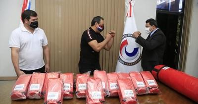 Gobernación de Central equipa centro de entrenamiento para luchar contra las drogas