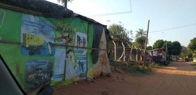 Volvieron a invadir propiedad de Copaco en Luque