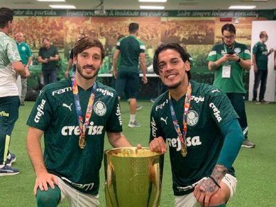 Gustavo Gómez, campeón en Brasil