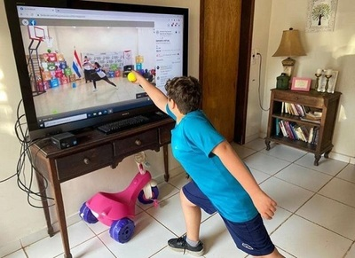"""Más de 1.400.000 personas aprovecharon clases de """"Deportes Virtuales"""""""