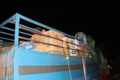Incautan casi 30 toneladas de productos de contrabando