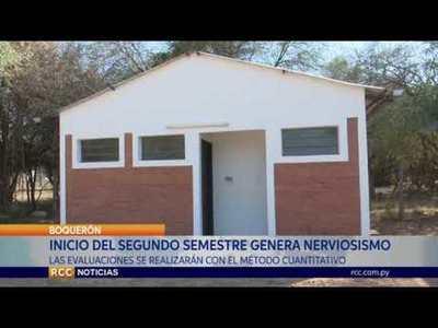 BOQUERÓN: MUCHO NERVIOSISMO DE CARA AL SEGUNDO SEMESTRE DEL AÑO LECTIVO