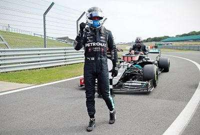 Bottas, por delante de Hamilton